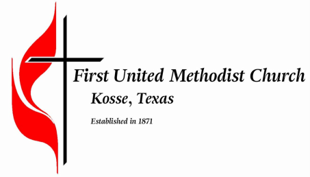 First United Methodist Church<br />Kosse, Texas